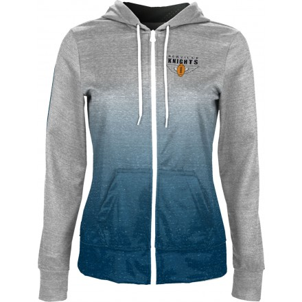 ProSphere Girls' Newville Knights Ombre Fullzip Hoodie